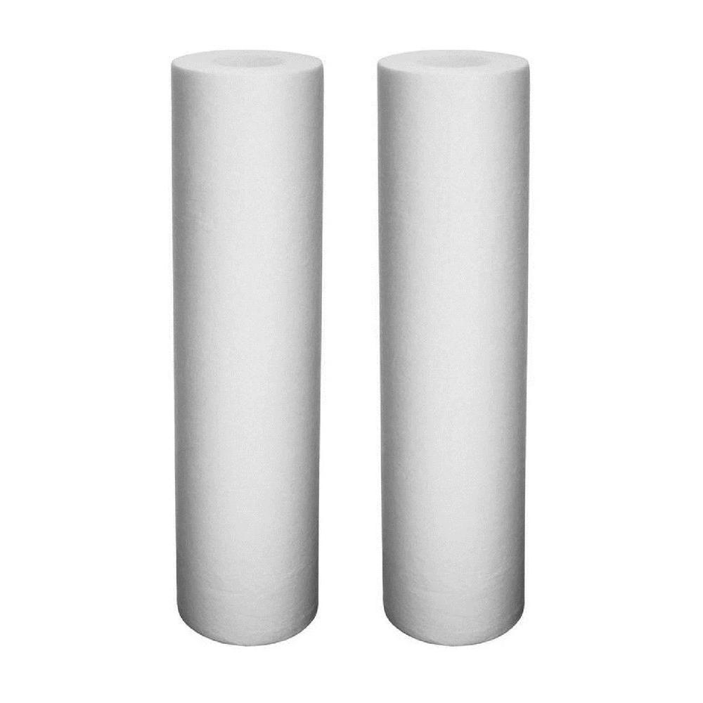 Universal Fit Melt-Blown Whole House Water Filter (2-Pack)