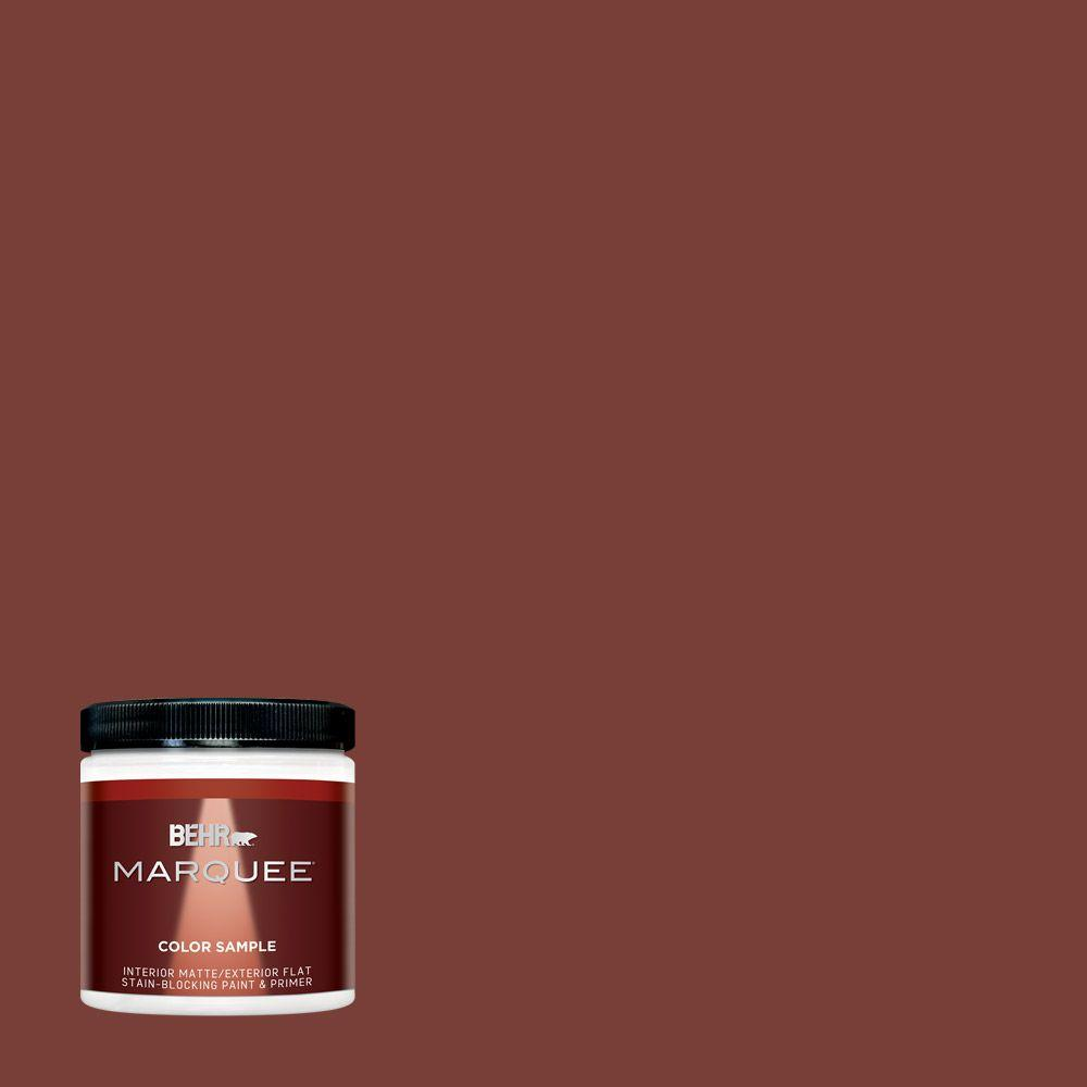 Ppu2 02 Red Pepper One Coat Hide Matte Interior Exterior Paint And Primer In Sample