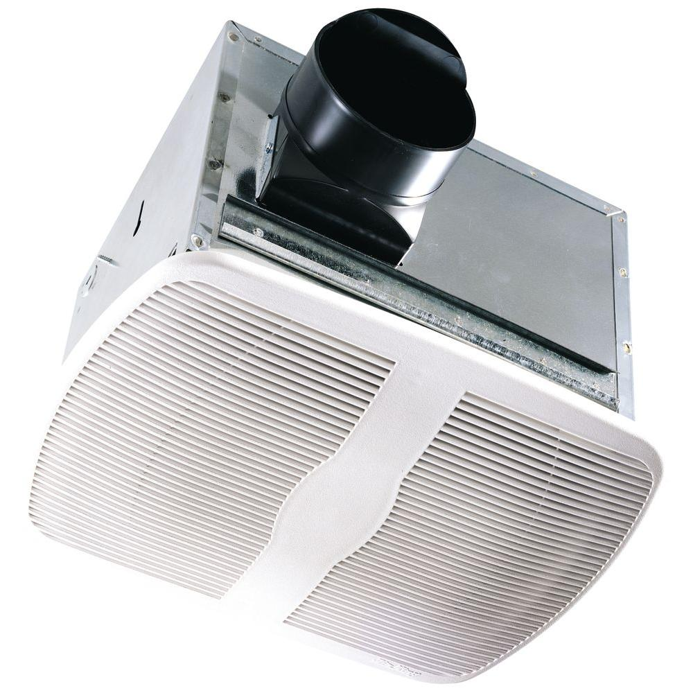 Delta breez signature series 110 cfm ceiling bathroom for 8 bathroom extractor fan