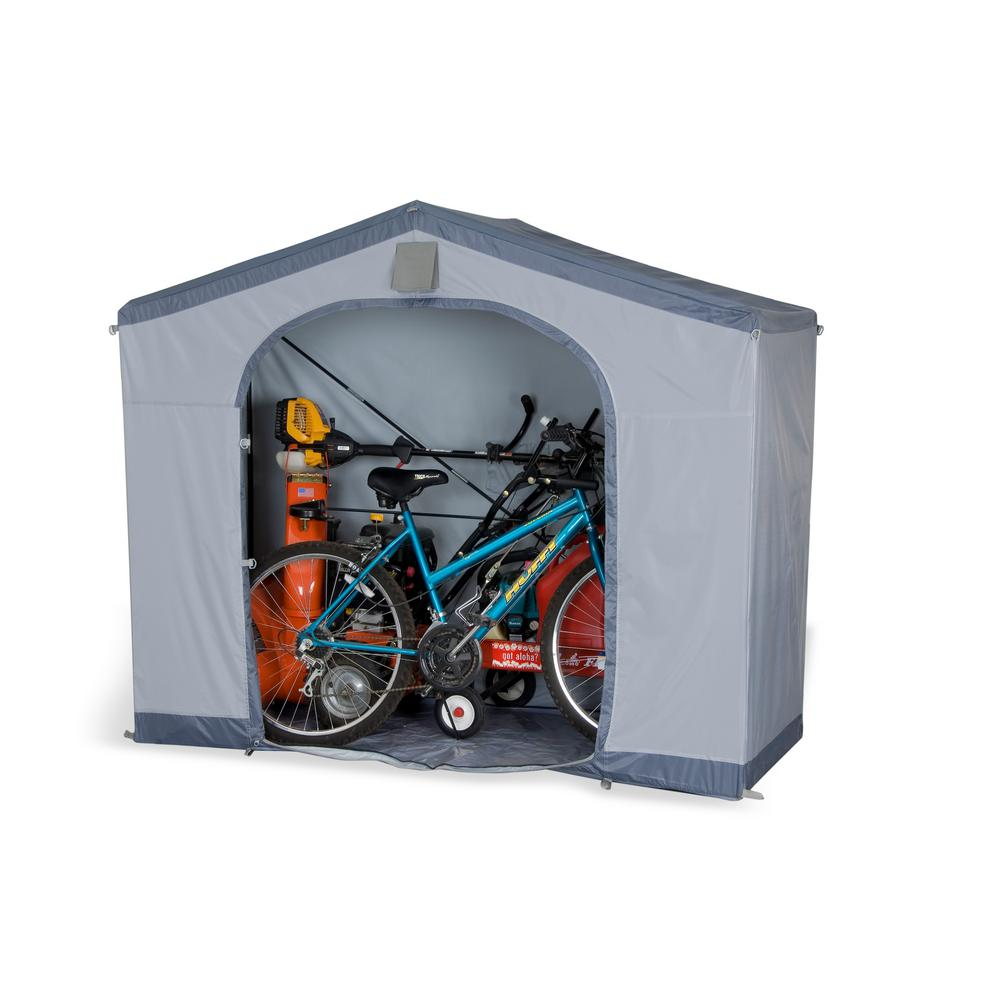 FlowerHouse 5 ft. x 6 ft. x 2 ft. Portable Storage Shed