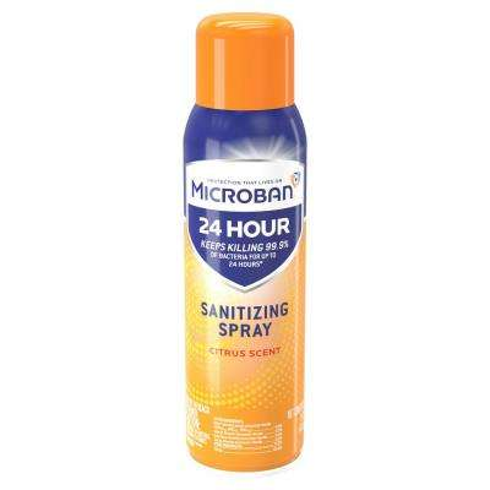 24-Hour 15 oz. Scent Citrus Sanitizing Aerosol Spray (6-Pack)