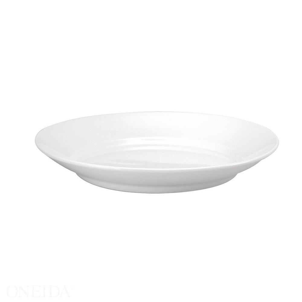 Oneida 47 Oz Stealth Porcelain Stadium Bowls Set Of 12 F1990000785 The Home Depot