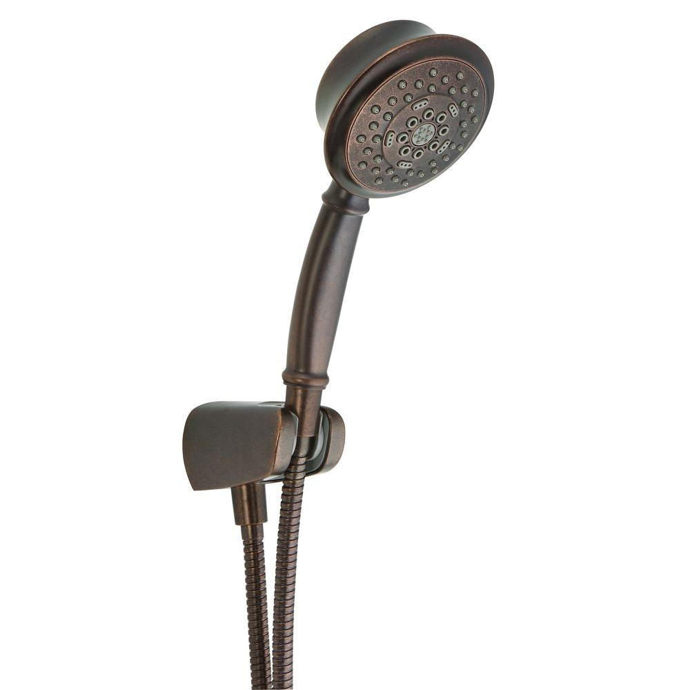 Danze Surge 5-Spray Hand Shower with Hose in Tumbled Bronze ...