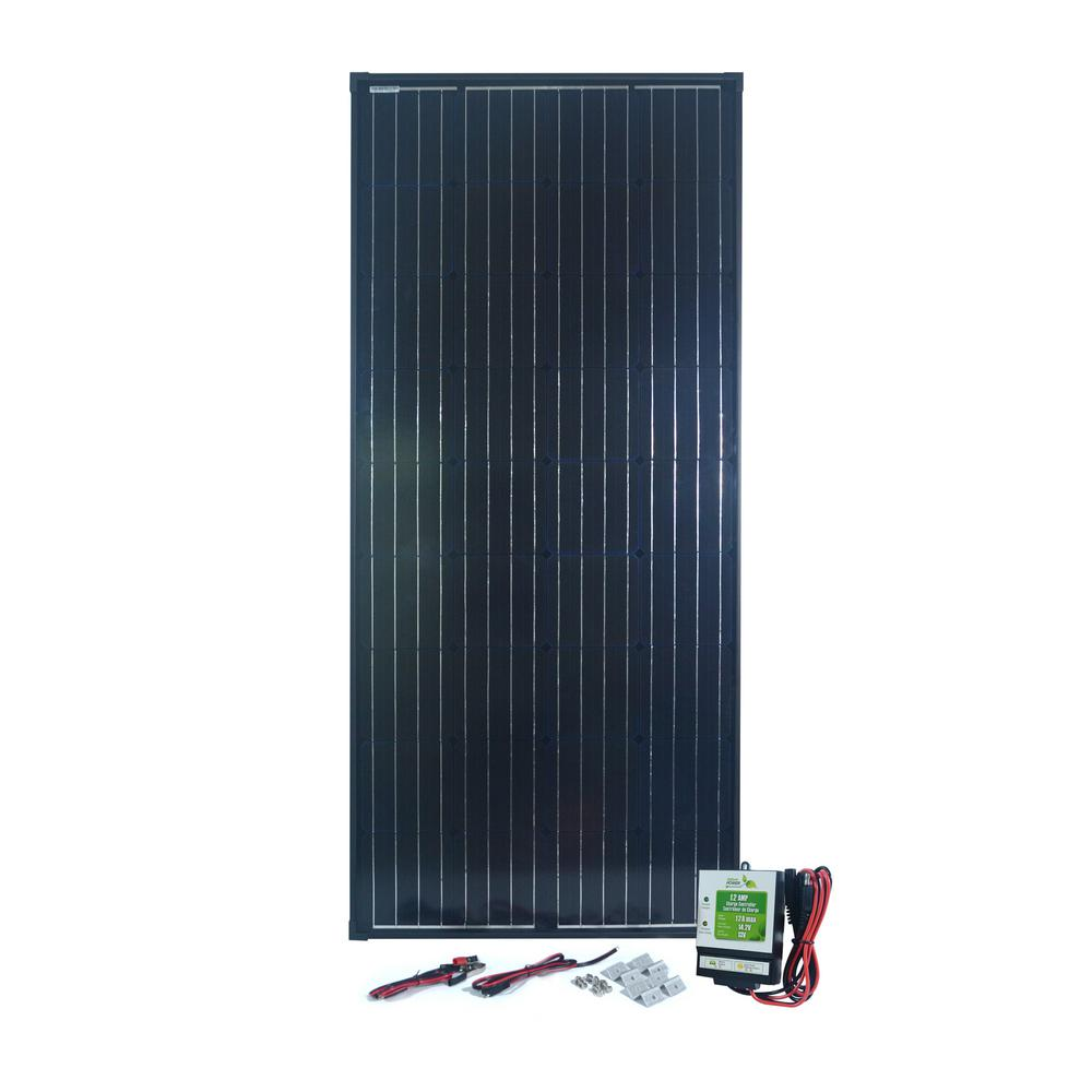 NATURE POWER 180-Watt Monocrystalline Solar Panel with 12 Amp Charge Controller was $499.0 now $141.0 (72.0% off)
