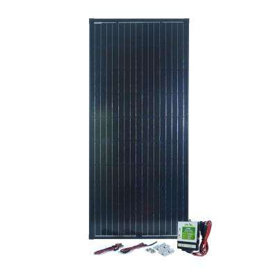 180-Watt Monocrystalline Solar Panel with 12 Amp Charge Controller