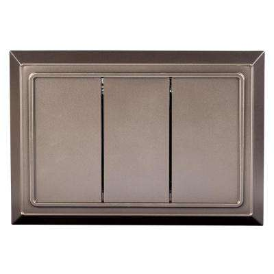 Wired Door Chime in Brushed Nickel