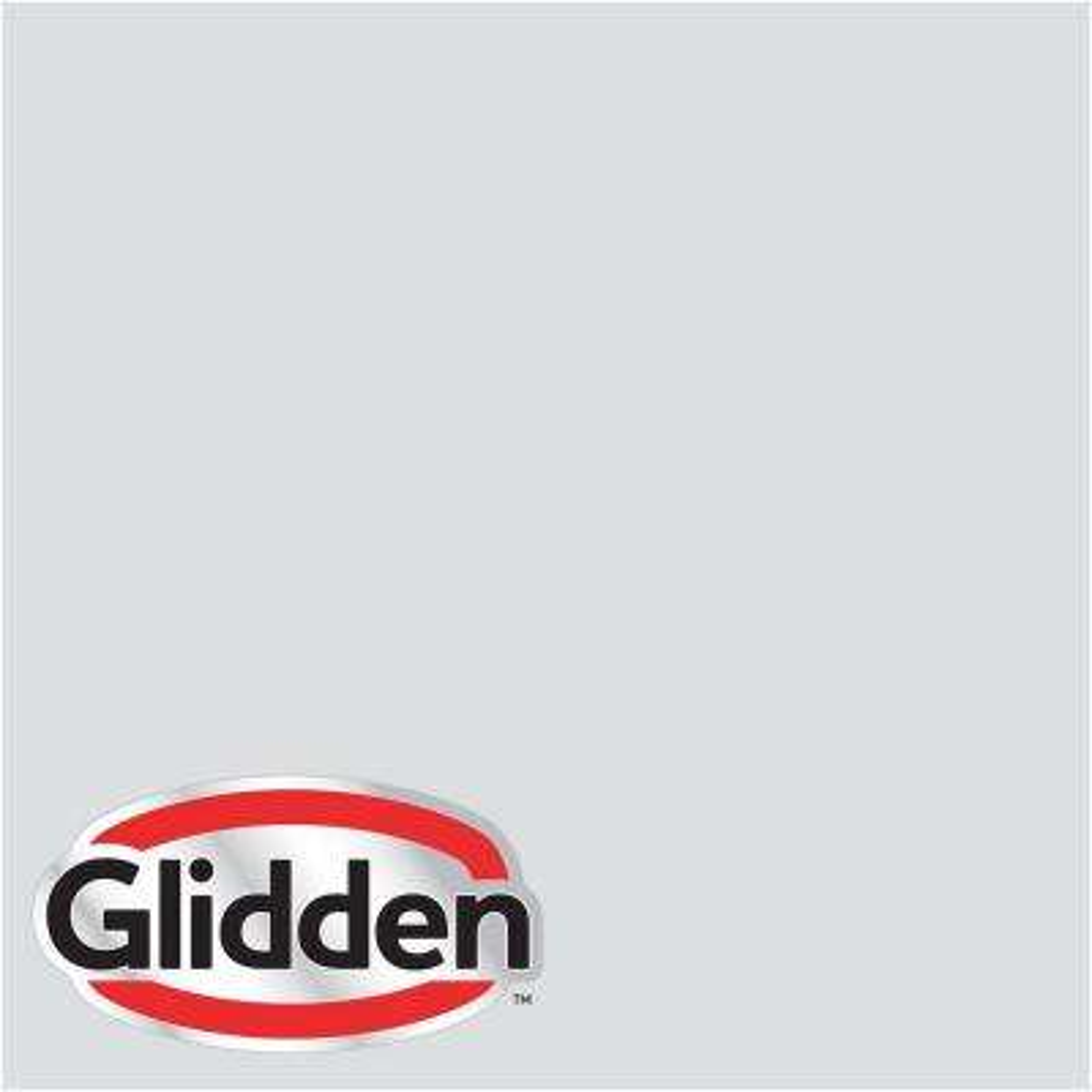 8 oz. #HDGCN43U Cloud Motif Grey Eggshell Interior Paint Sample