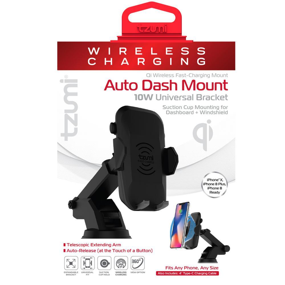 Wireless Charging Auto Dash Mount