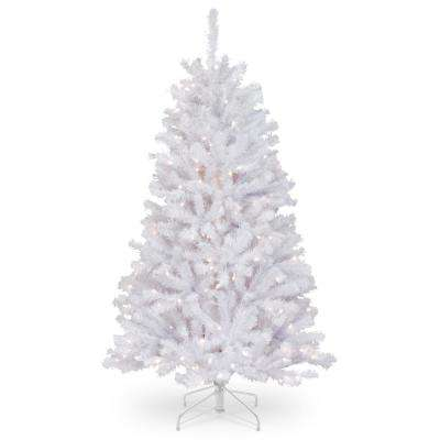 45 ft north valley white spruce artificial christmas tree with clear lights