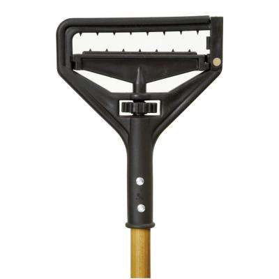 Poly Quick-Change Mop with 54 in. Wood Handle