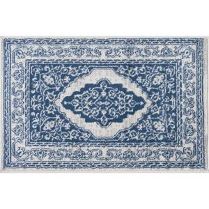Madison Navy 2 ft. x 3 ft. Scatter Area Rug