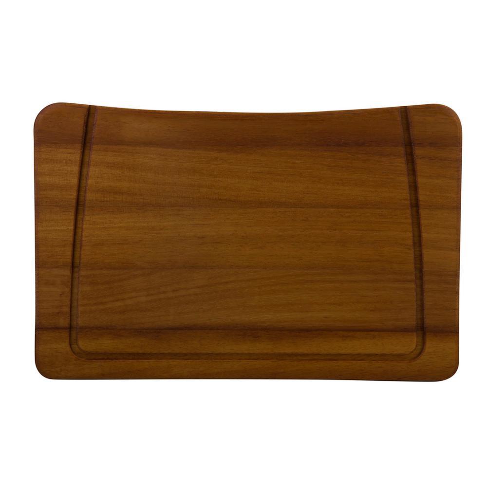 ALFI BRAND Wood Cutting Board for Kitchen Sinks