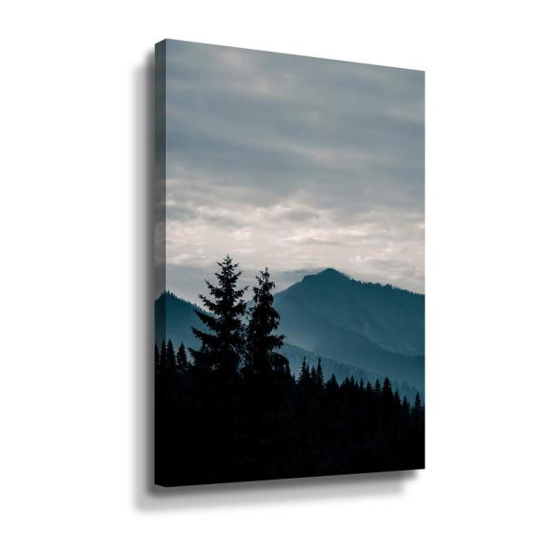 Artwall Blue Mountains Vii By Photoinc Studio Canvas Wall Art 5pst238a3248w The Home Depot