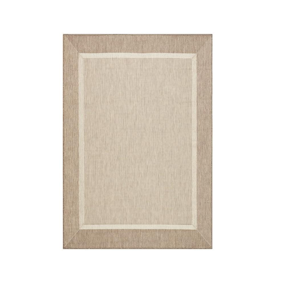 Home Decorators Collection Islander Taupe/Champagne 5 Ft. 10 In. X 9 Ft. 2  In. Area Rug 8221530860   The Home Depot