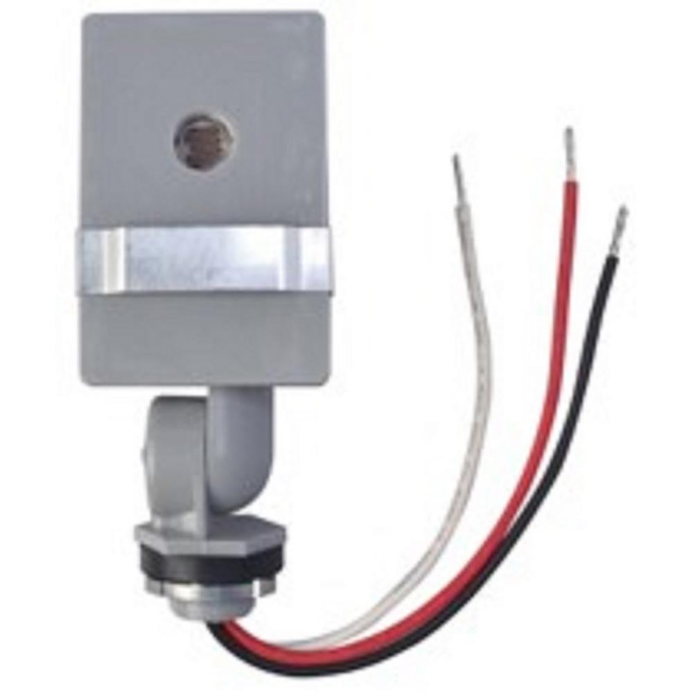 woods 2,000-watt outdoor in-wall stem and swivel photocell light control-59411wd  - the home depot  the home depot