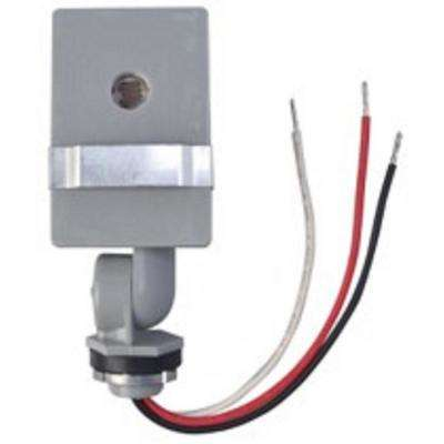 2,000-watt outdoor in-wall stem and swivel photocell light control