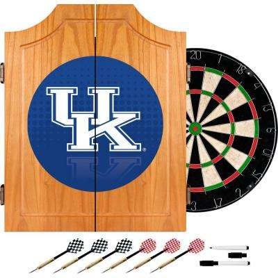 University of Kentucky Reflection 20.5 in. Wood Dart Cabinet Set