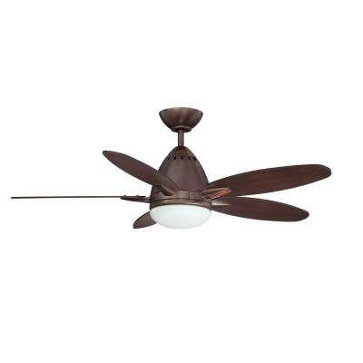 Navaton 44 in. Oil Brushed Bronze Ceiling Fan