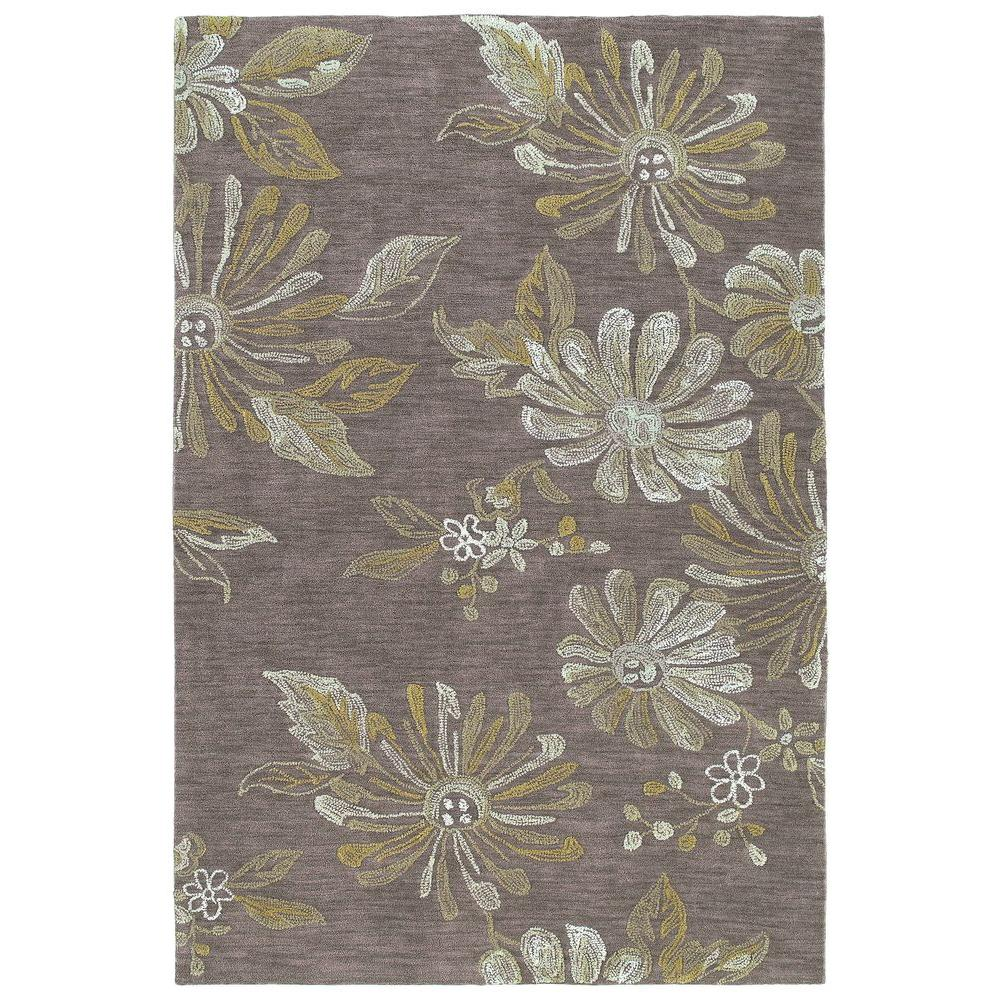 kaleen inspire marvel brown 9 ft x 12 ft area rug 6402 49 9 x 12 the home depot. Black Bedroom Furniture Sets. Home Design Ideas
