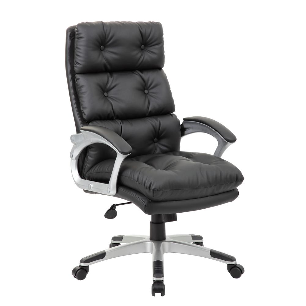 Black On Tufted Executive Chair