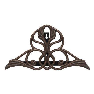 Oil Rubbed Bronze Victorian Hose Holder