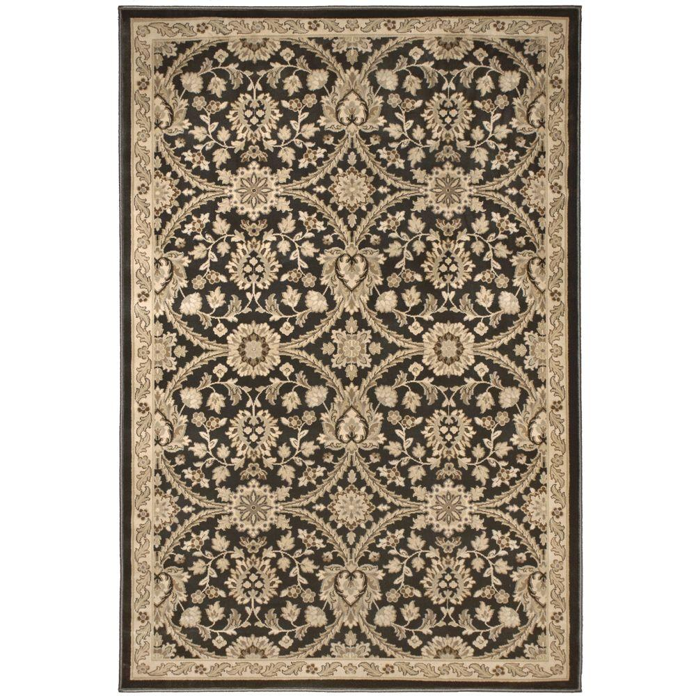 null Fabris Gainsboro Grey 6 ft. 7 in. x 9 ft. 8 in. Area Rug