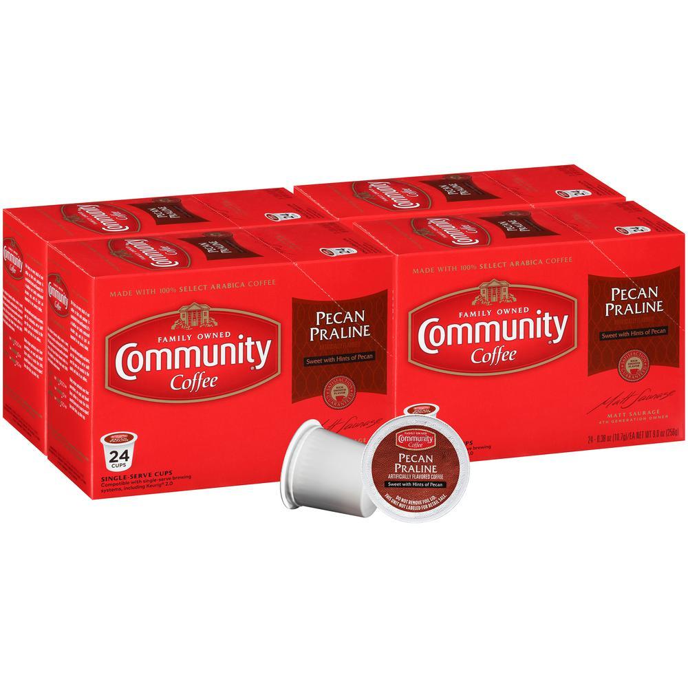 Pecan Praline Medium Roast Single Serve Cups (96-Pack)