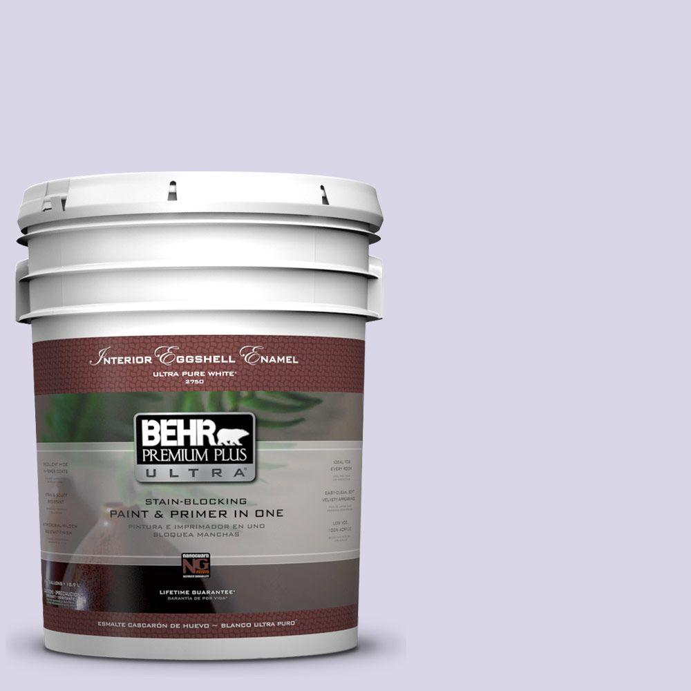 BEHR Premium Plus Ultra 5-gal. #630A-2 February Frost Eggshell Enamel Interior Paint