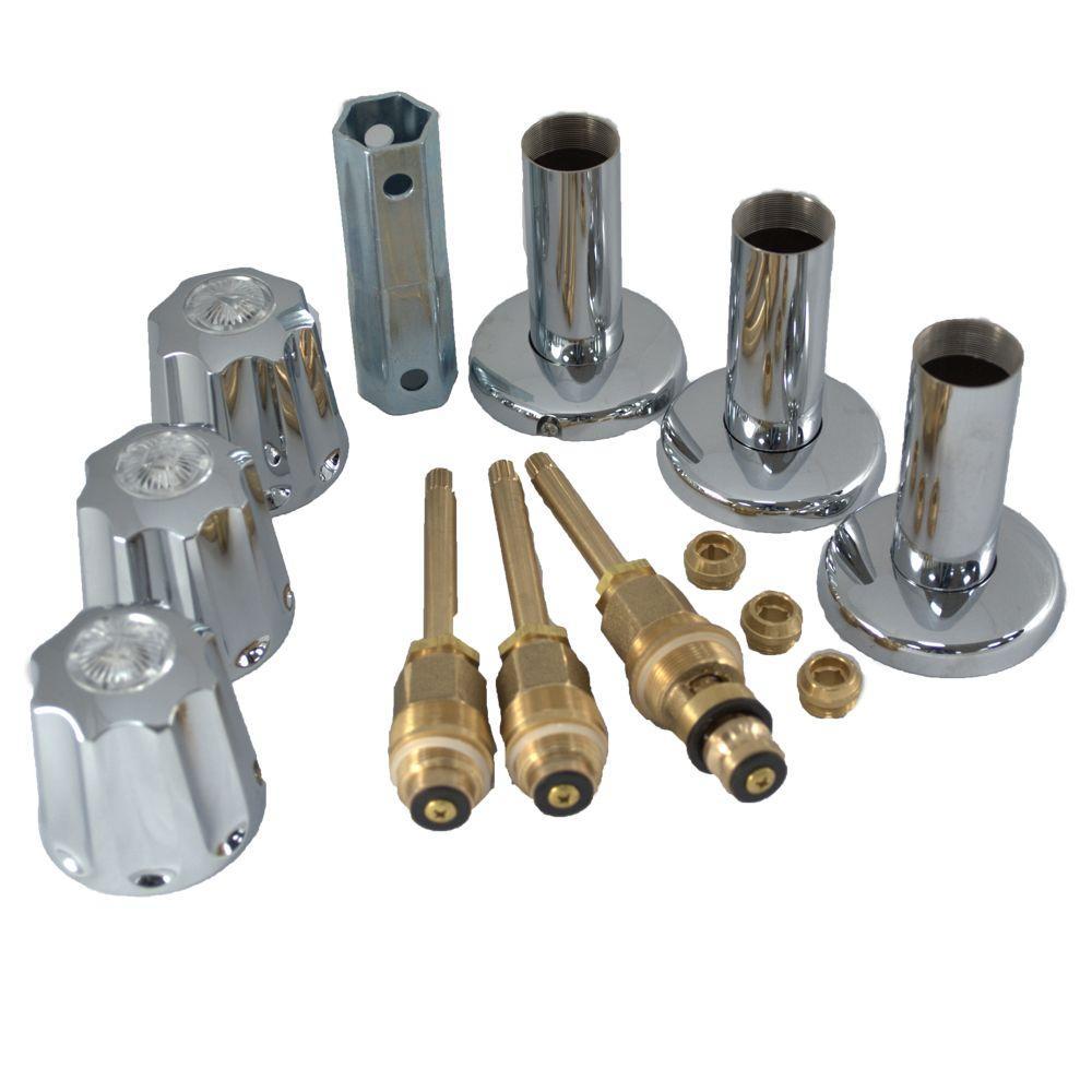 PartsmasterPro Tub and Shower Rebuild Kit for Gerber Faucets in ...