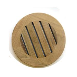 12 in hexagon red stepping stone 100003016 the home depot 165 in x 165 in x 13 in round natural teak wood garden maxwellsz