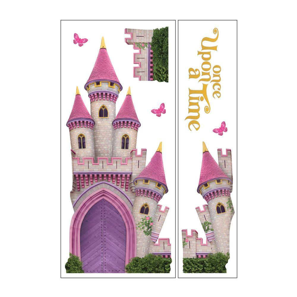 Sticky Pix Removable and Repositionable Ultimate Wall Sticker Mini Mural Appliques Princess