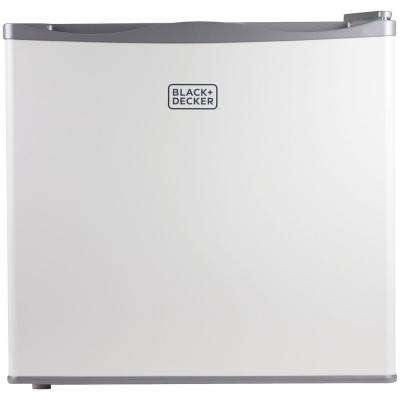 1.2 cu. ft. Compact Upright Freezer in White
