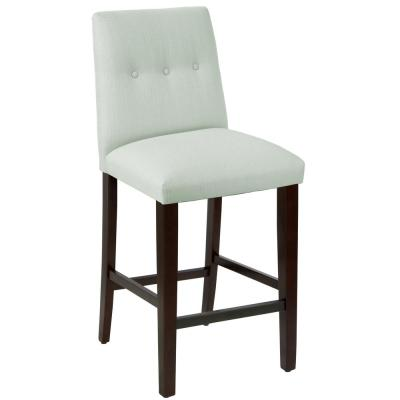 Klein Pool Tapered Bar stool with Buttons