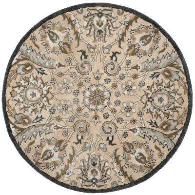 Round 5 Round Area Rugs Rugs The Home Depot