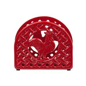 Home Basics Cast Iron Rooster Napkin Holder by Home Basics