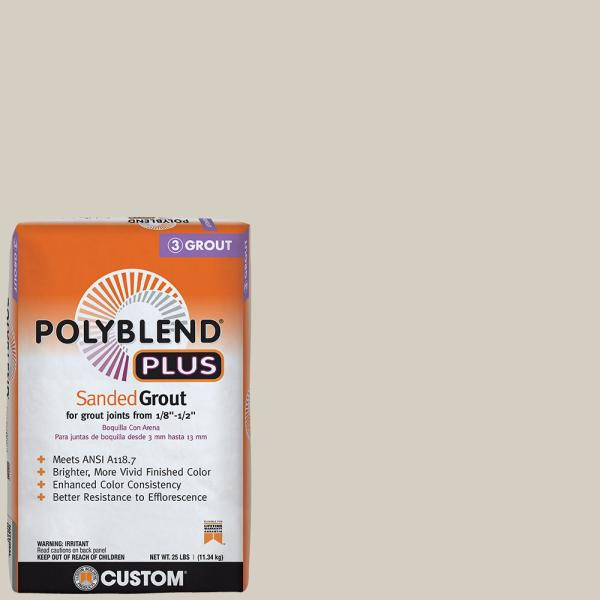 Polyblend Plus #545 Bleached Wood 25 lb. Sanded Grout