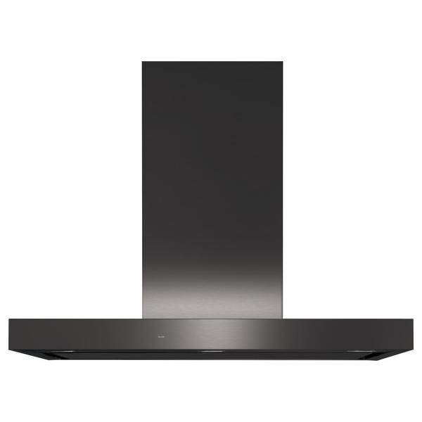 36 in. Smart Wall Mount Range Hood with Light in Black Stainless Steel, Fingerprint Resistant