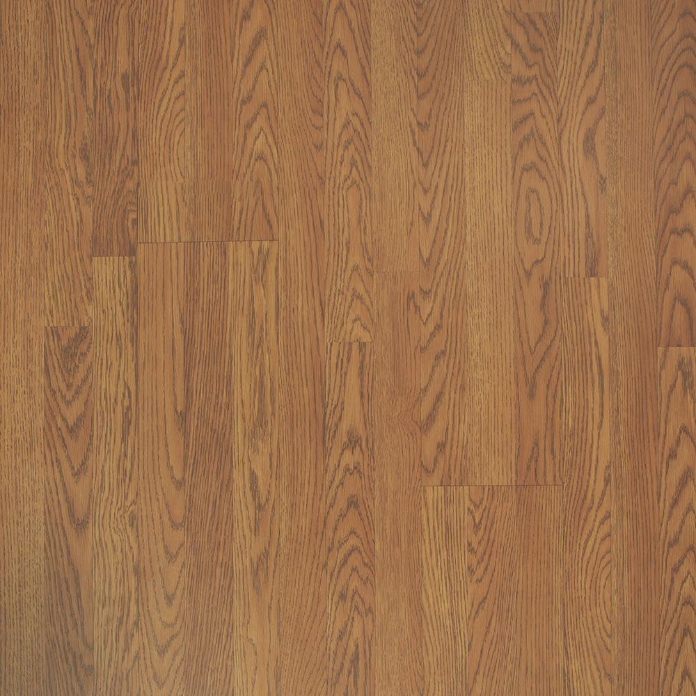 8 mm Classic Auburn Oak Laminate Flooring - 5 in. x 7 in. Take Home Sample