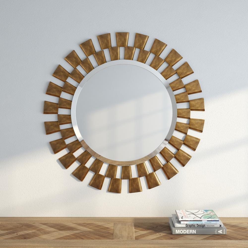 Kenroy Home 36 inch H x 36 inch W Framed Wall Mirror by Kenroy Home