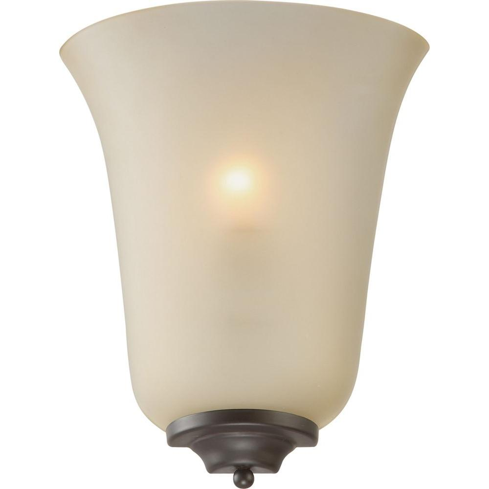 Volume Lighting 1-Light Antique Bronze Interior Wall