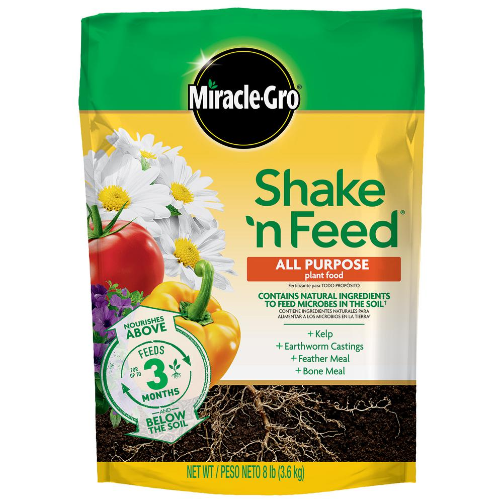 Miracle Gro Shake 'n Feed 8 lbs. All Purpose Plant Food