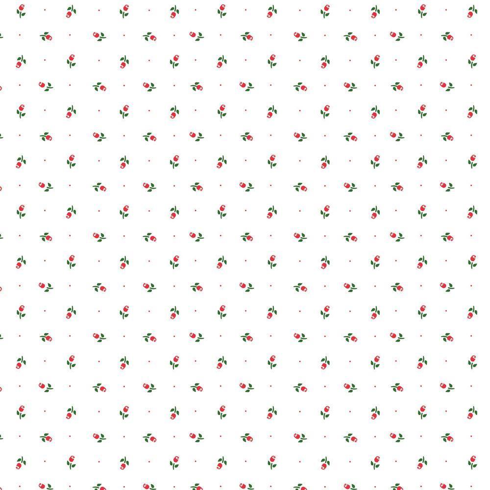 Creative Covering Rosebud Shelf Liner