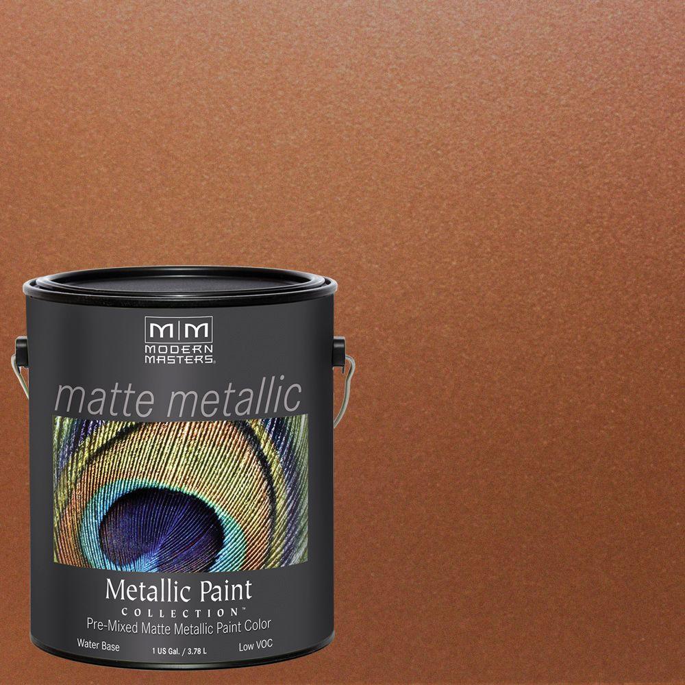 1 gal. Antique Bronze Water-Based Matte Metallic Interior Paint