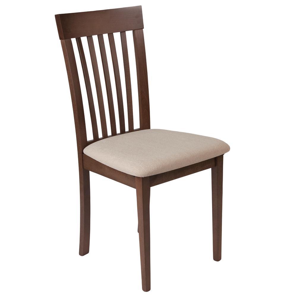Wellington Walnut Side Chair