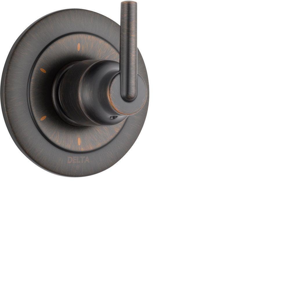 Trinsic Single-Handle 6-Function Diverter Valve Trim Kit in Venetian Bronze