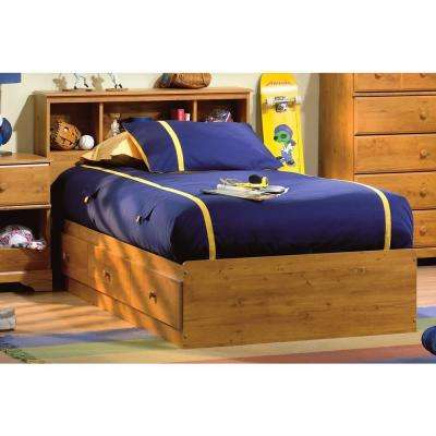 Little Treasures 2 Piece Country Pine Twin Bedroom Set