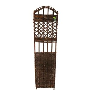 72 in. H x 18 in. W Willow Woven Trellis
