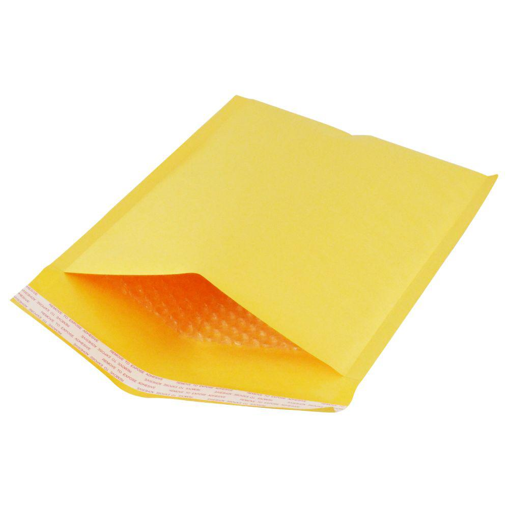 MAILERS4U 8.5 in. x 12 in. Kraft Bubble Padded Mailer Envelopes #2 (50-Set)