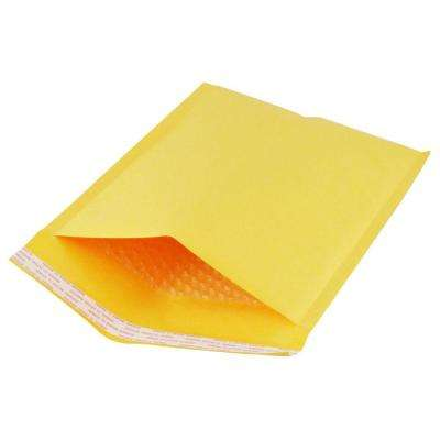 8.5 in. x 12 in. Kraft Bubble Padded Mailer Envelopes #2 (50-Set)
