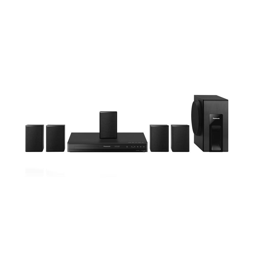 Panasonic 5.1-Channel 300-Watt Home Theater System with DVD Player and 1080p Up-Conversion